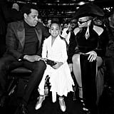 JAY-Z, Blue Ivy Carter, and Beyoncé