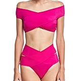OYE Swimwear Lucette Off-The-Shoulder Swimsuit