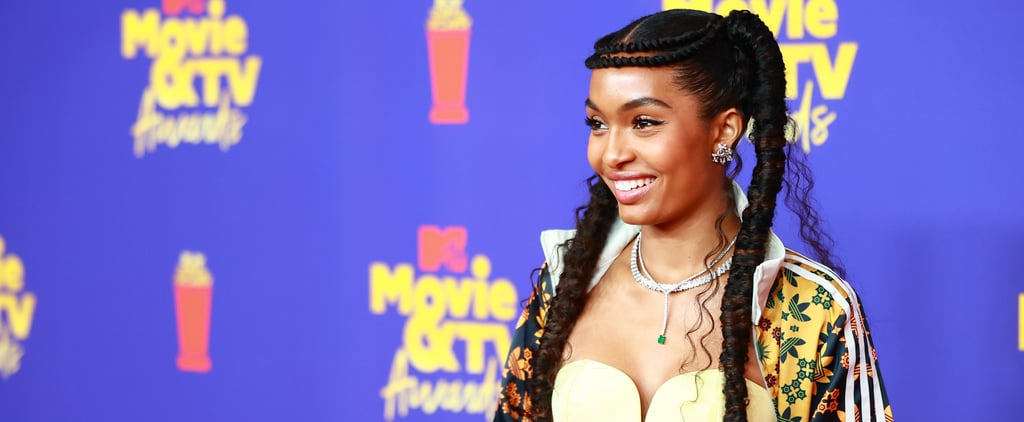 See Yara Shahidi's Gorgeous Hair Crown at the MTV Awards