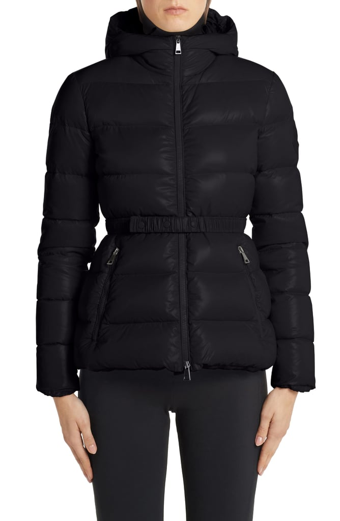 Moncler Rhin Hooded Quilted Down Puffer Jacket