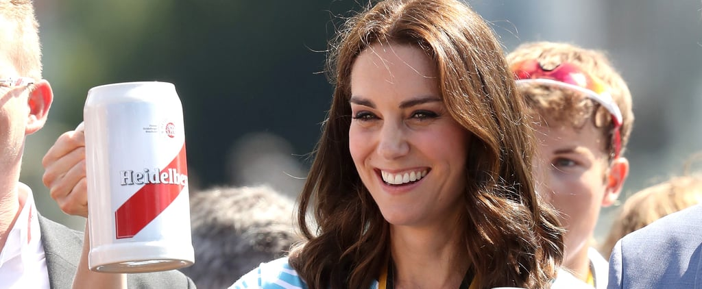 Even Kate Middleton and Prince William Can't Say No to a Cold Beer in Germany