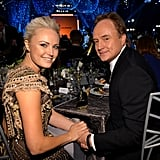 Malin Akerman and Bradley Whitford shared a table.