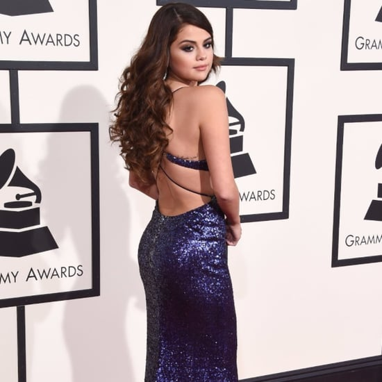 Selena Gomez Wearing Dresses With Beautiful Backs