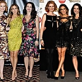 Earlier this year, Cynthia Nixon, Sarah Jessica Parker, and Kristin Davis attended ShowWest Las Vegas in outfits their characters would die over. Tell me, who's most Fab?