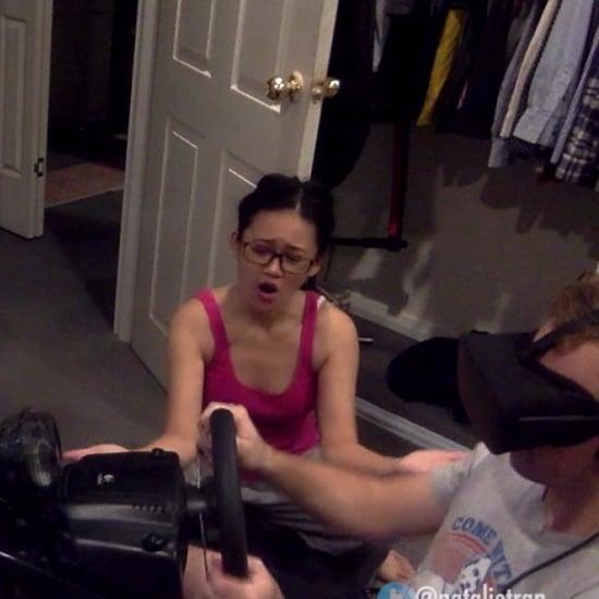 Virtual Reality Girlfriend Video Parody