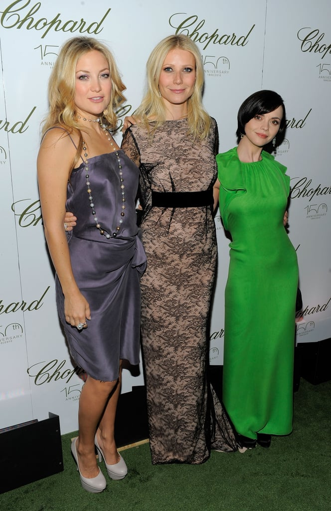 I love it when a super-glam fashion event attracts a star-studded crowd. To mark 150 years of excellence, Chopard threw a dazzling event in New York today with an impressive line-up of A-grade stars. Gwyneth Paltrow, Christina Ricci, Kate Hudson and more all frocked up for the occasion in their red carpet finest, and of course, oodles of jewels! Wanna see who scrubbed up best? Well click through our gallery for a fancy style stalk, and don't forget to vote on our polls to have your say in our Rate It or Hate It special!