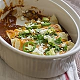 Vegetarian Enchiladas With Goat Cheese Casserole