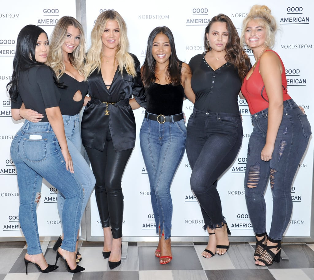 Khloé Kardashian Continued Expanding Her Good American Jeans Line