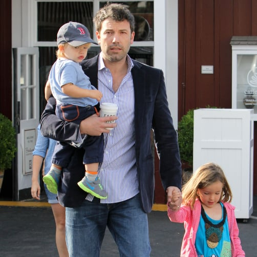 Ben Affleck With Seraphina and Samuel in LA | Pictures