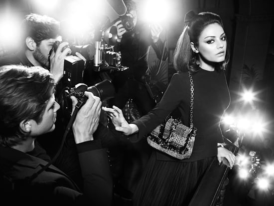 Mila Kunis Makes a Ladylike (second) Entrance for Miss Dior Bag Autumn Winter 2012 Ad Campaign