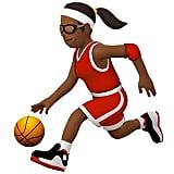 Woman Playing Basketball Emoji