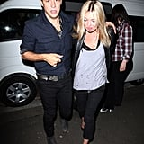 Kate Moss and Jamie Hince went to Sydney together in July 2011.