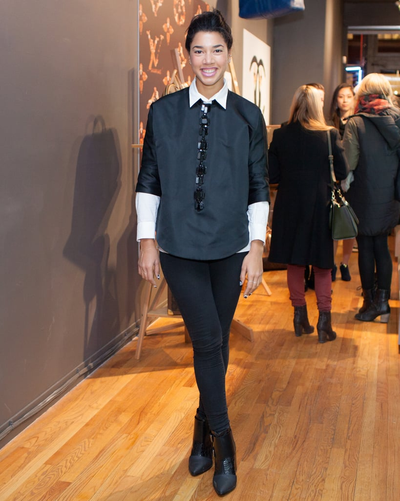 Hannah Bronfman at LXR & Co.'s flagship store opening in New York.