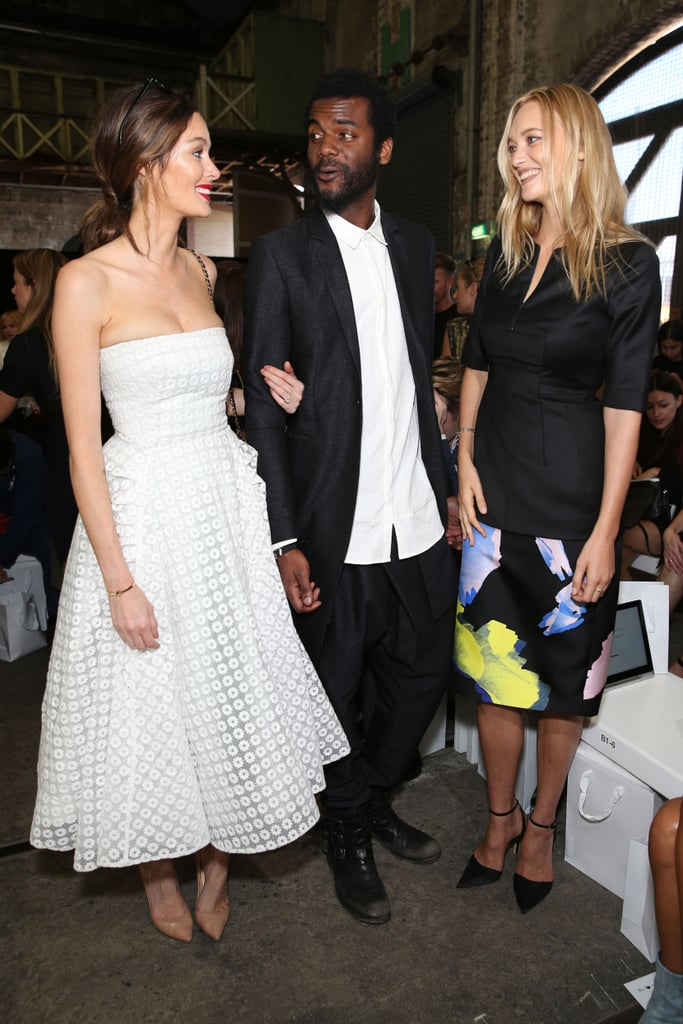 Nicole Trunfio, Gary Clarke Jr. and Gemma Ward — Day 3