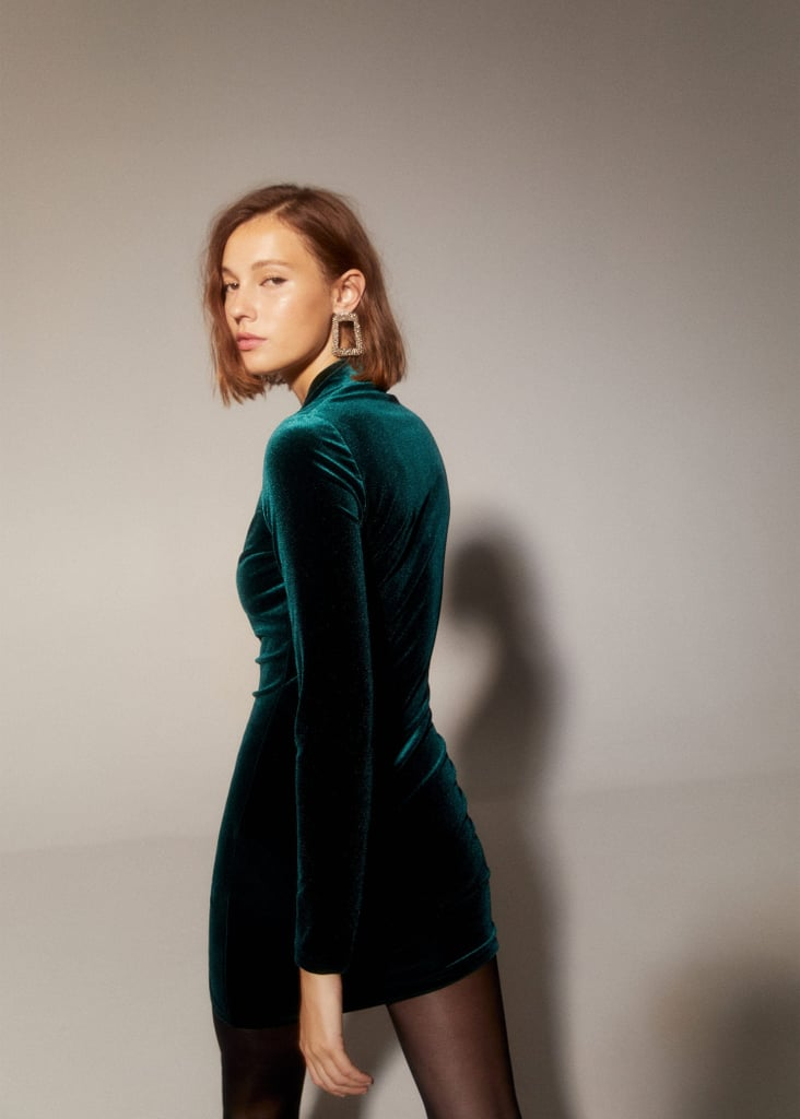Holiday Fashion Trend 2019: Velvet Minidresses