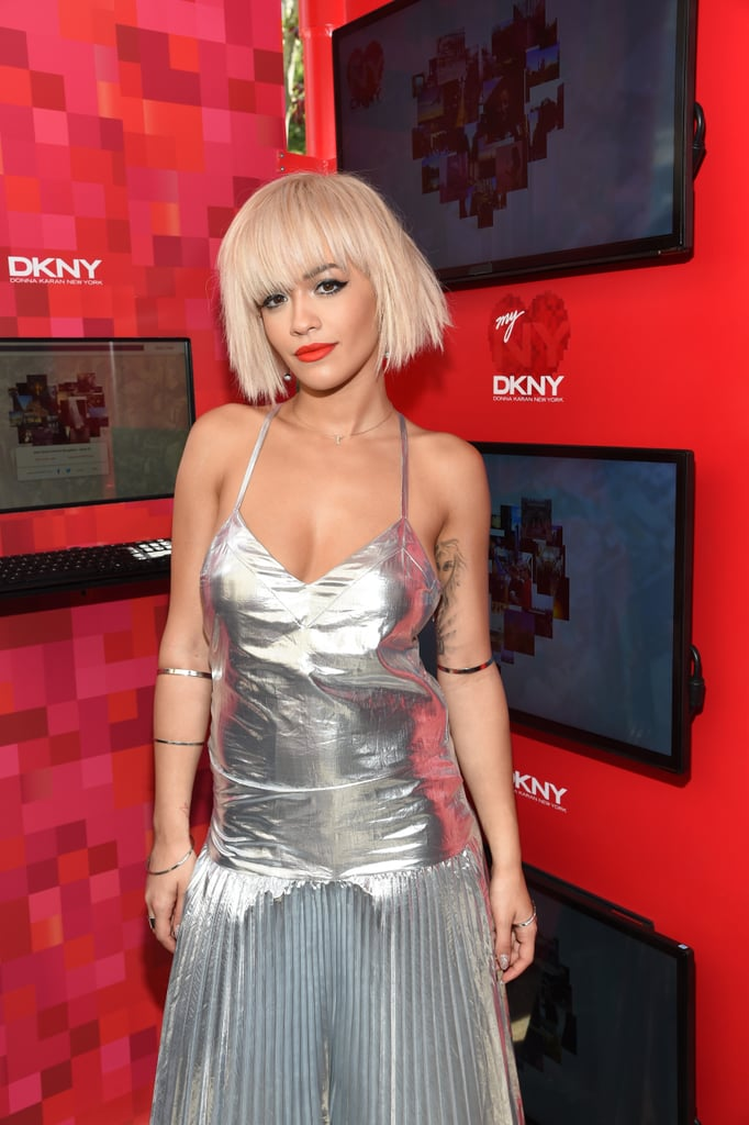 Go For the Choppy Platinum Bob (or Lob)