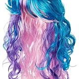 Three Color Wig With Unicorn Horn and Ears