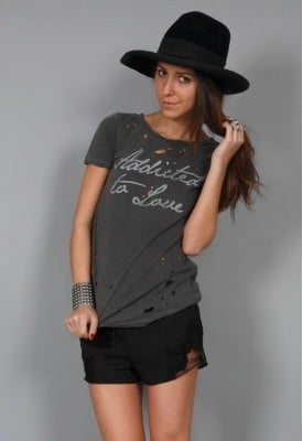 Chaser Addicted to Love Slouchy Tee ($49)