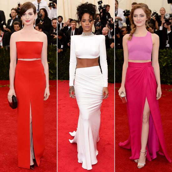 Crop Tops at the Met Gala 2014