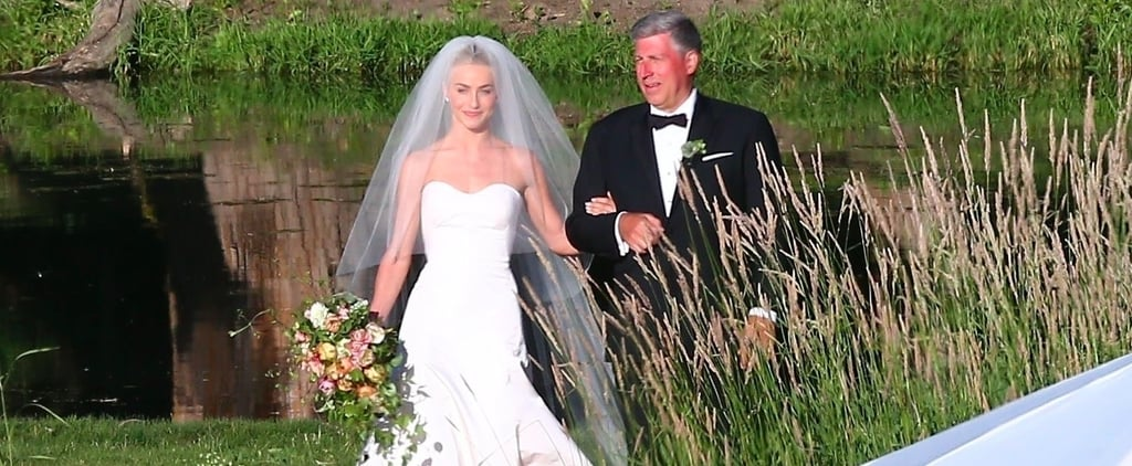 Julianne Hough Marchesa Wedding Dress
