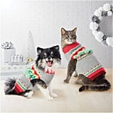 Merry Lane Fairisle Cat and Dog Sweater