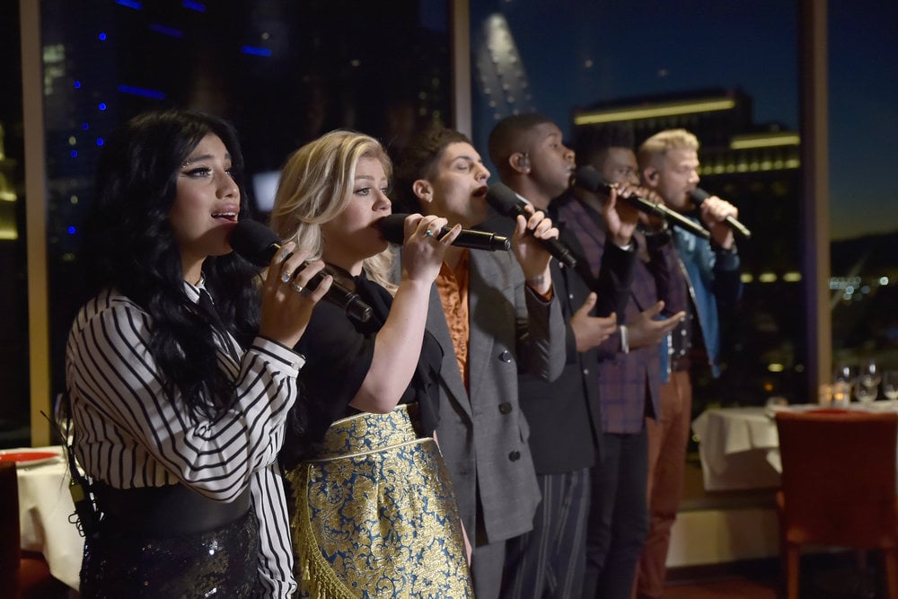 "Pentatonix Kelly Clarkson ""My Grown Up Christmas List"" Video ..."