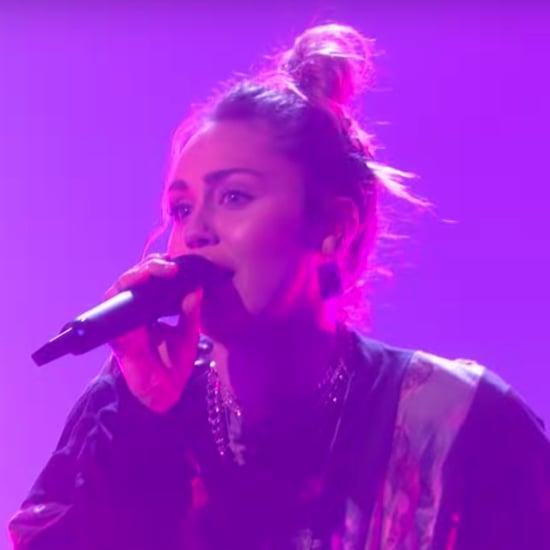 """Miley Cyrus """"Nothing Breaks Like a Heart"""" on Ellen Video"""