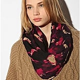 Deena and Ozzy Abstract Print Eternity Scarf  ($28)