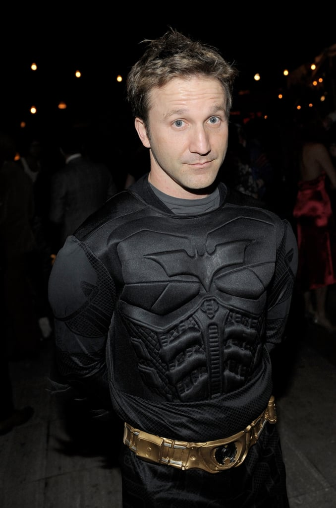 Breckin Meyer was Batman for Halloween.