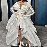 Winnie Harlow at the Vanity Fair Oscars Afterparty 2020