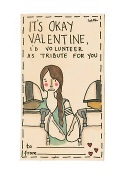 Hunger Games Valentine