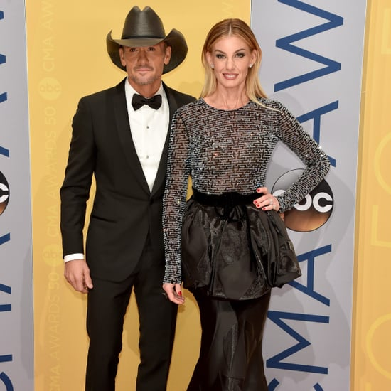Faith Hill and Tim McGraw at the CMA Awards 2016