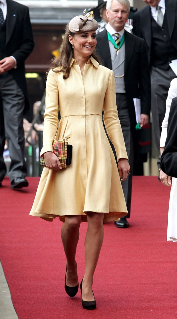 Kate Middleton supported her husband Prince William in Scotland on July 5.