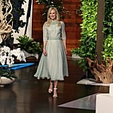 Photos of Kidman on The Ellen DeGeneres Show