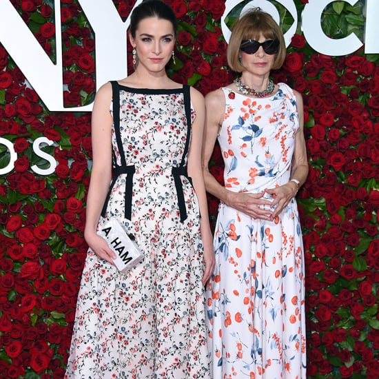 Bee Shaffer's Hamilton Clutch at the Tony Awards 2016