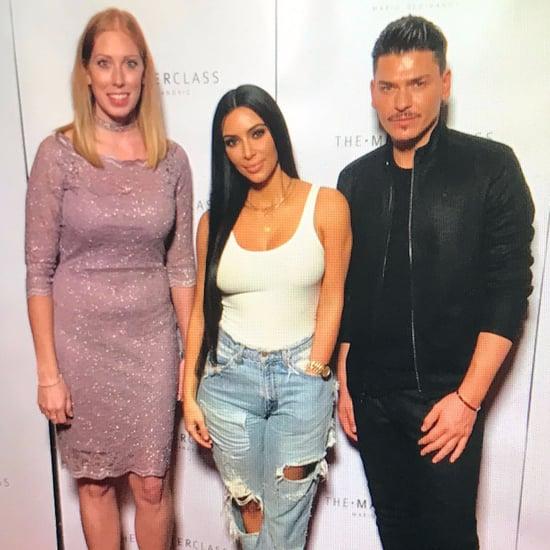 Kim Kardashian at Masterclass in Dubai January 2017