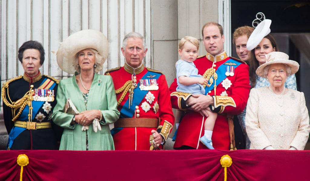 Princess Anne at Trooping the Colour at Buckingham Palace in 2015