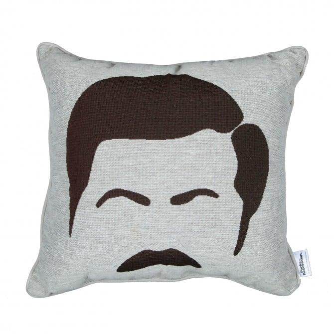 Ron Swanson Throw Pillow ($40)
