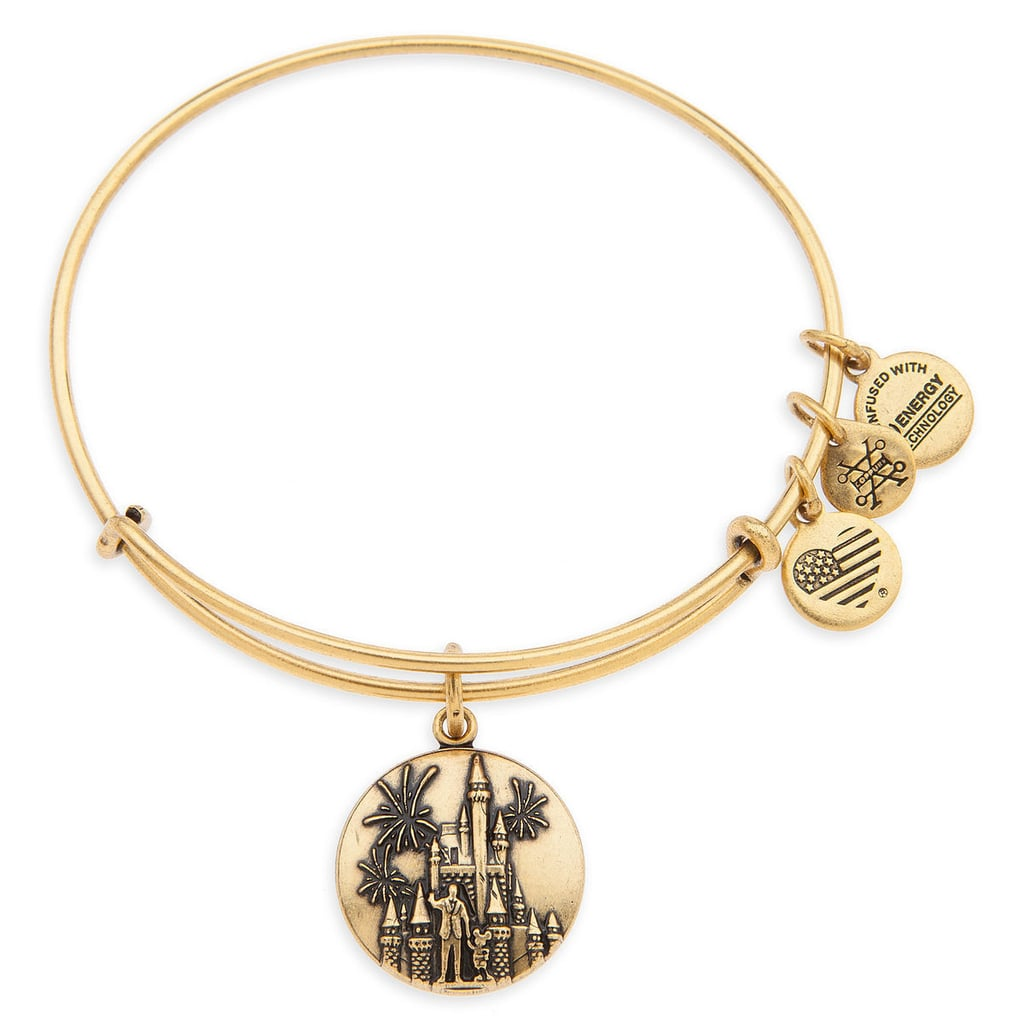 Cinderella Castle With Walt Disney And Mickey Mouse Bangle By Alex