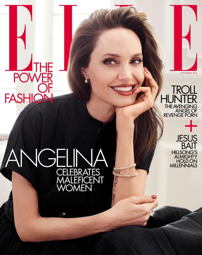 Angelina Jolie Essay in Elle September Issue 2019