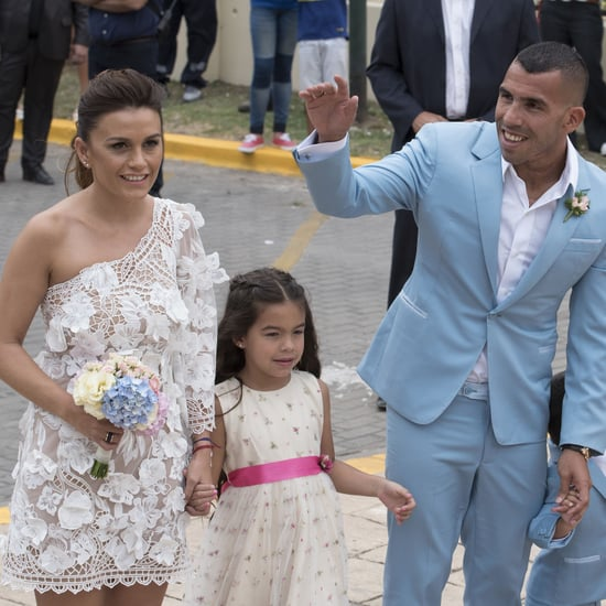 Vanesa Mansilla's Wedding Dress