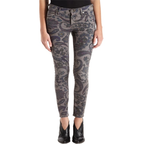 OK, these Citizens of Humanity paisley-print jeans ($89, originally $228) don't exactly scream Spring, but to remedy that, just add a neon tank and sandals.