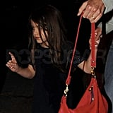 Katie Holmes and Suri Cruise Treat Themselves to a Thursday Girls' Night