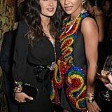 Salma Hayak and Rita Ora