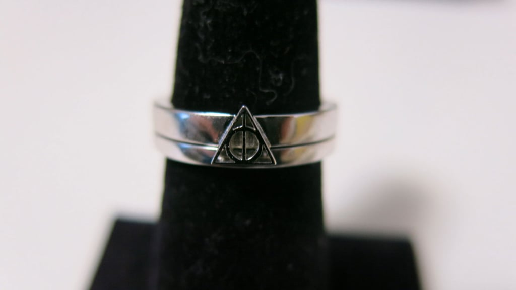 Deathly Hallows Ring Set ($623)