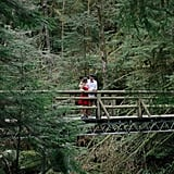 This Engagement Session in the Forest Is Downright Mesmerizing
