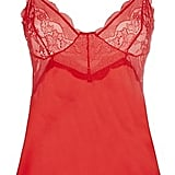 For a more glamorous take on festive underwear, this lace-trimmed cami from Kelly Brook's line for New Look (£20) is perfect.