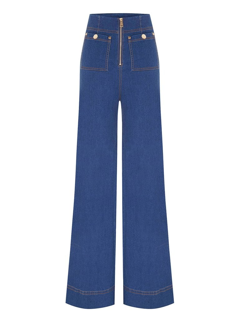 Alaska's High-Rise Jeans in Looking For Alaska