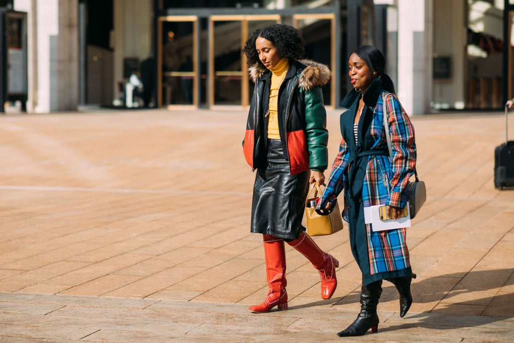Street Style At New York Fashion Week Fall 2018 Popsugar Fashion