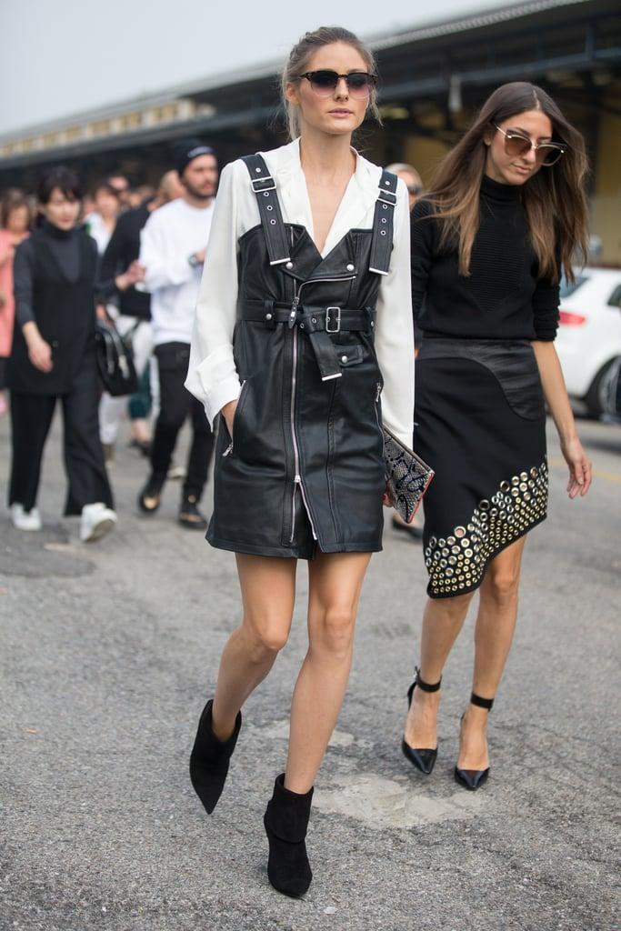 Olivia Palermo at Milan Fashion Week Spring 2017